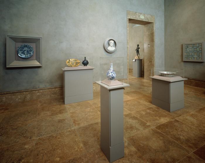 Venetian plaster wall photos Getty museum