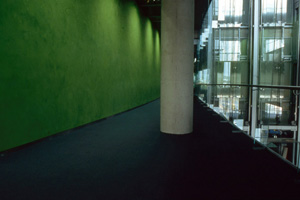 plaster wall finishes Phoenix Public Library